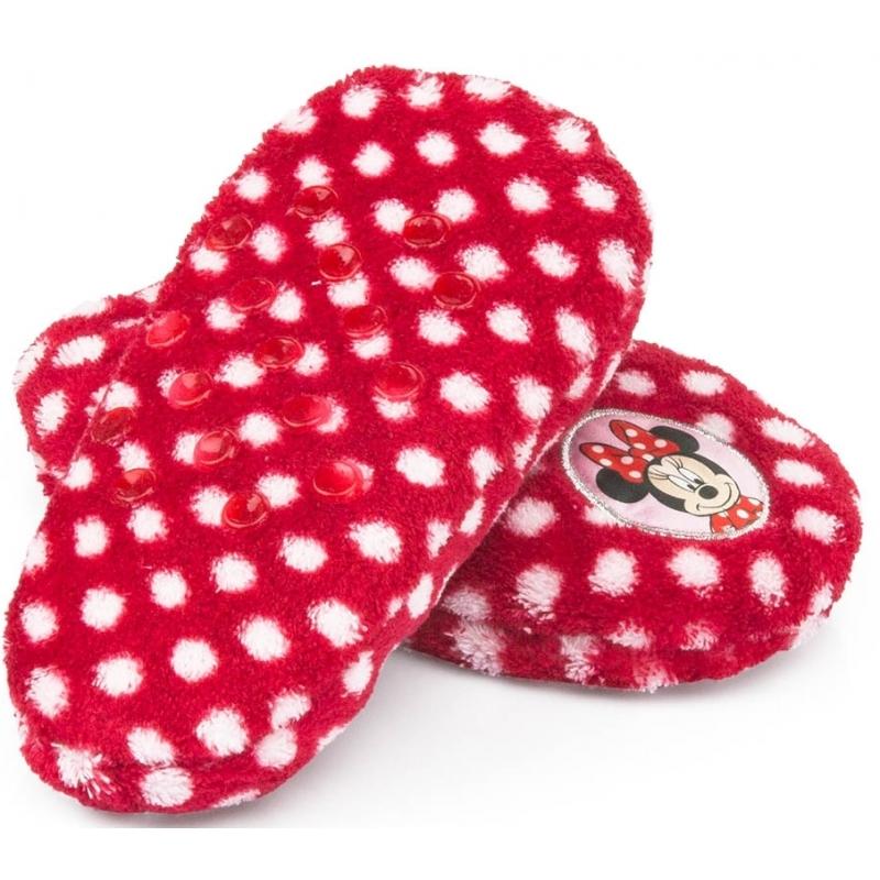 390db64a382 Minnie Mouse slofjes rood anti-slip € 9.95 alleen bij masker-winkel.nl.